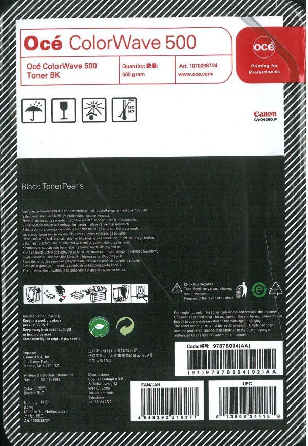 Toner Océ CW500 (Pearls) - Black - 500 gramas. Codigo 9787B004AA