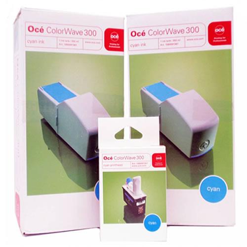 Toner OCE CW300 COMBIPack XL Cyan 2x ink tank 400Ml + 1 x Cabeça de Impressão - Codigo 5836B005AA