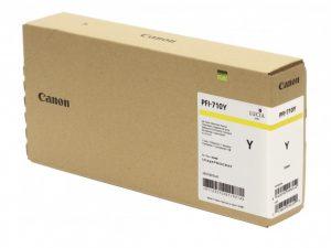 Cartucho de tinta Canon PFI-710 YELLOW (TX3000 / TX4000) 700 ml