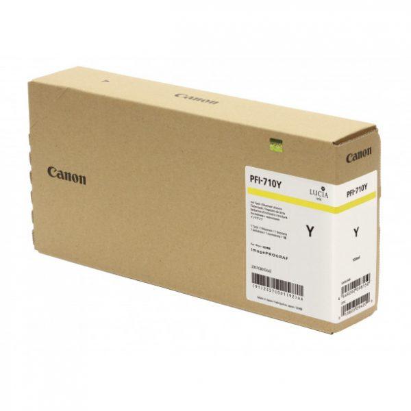 Cartucho de tinta Canon PFI-710 YELLOW (TX300 / TX4000) 700 ml