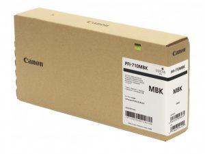 Cartucho de tinta Canon PFI-710 MBK (TX3000 / TX4000) 700 ml