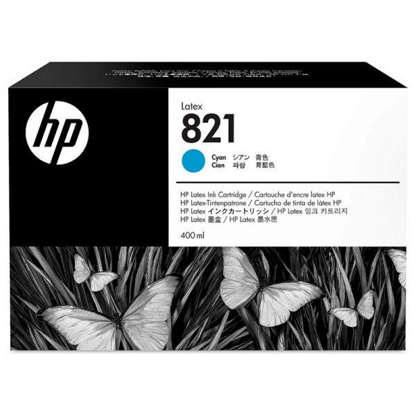 Cartucho de Tinta HP Látex Cyan (821A DE 400ml)