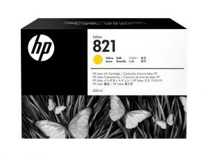 Cartucho de Tinta HP Látex Yellow (821A DE 400ml)
