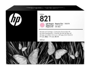 Cartucho de Tinta HP Látex Magenta Claro (821A DE 400ml)