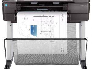 "Impressora HP DesignJet série T830 24"""